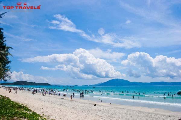 Bãi biển Đại Lãnh tại Nha Trang