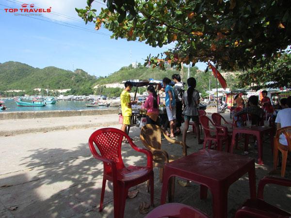Bãi Chệt ở Đảo Nam Du
