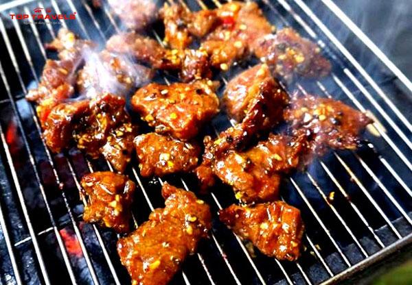 Bò nướng Lạc Cảnh ở Nha Trang
