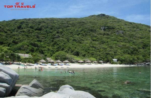 Đảo Bãi Bàng ở Nha Trang