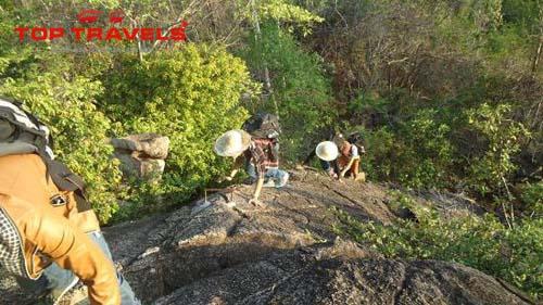 Chinh phục núi Sạn Nha Trang