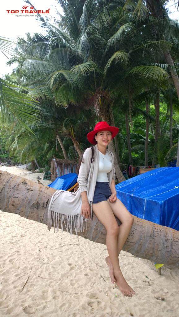 Bãi Bàng Ở Hòn Sơn Rái Kiên Giang
