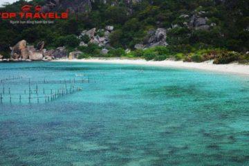 Bãi Bồ Đề Tại Đảo Bình Ba
