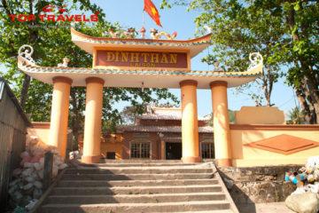 Đền thờ Nguyễn Trung Trực ở Hòn Sơn