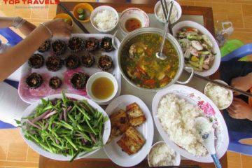 Du Lịch đảo Nam Du thưởng thức những đặc sản ngon