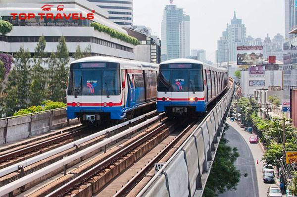 Hướng Dẫn Cách Sử Dụng Tàu Điện Trên Cao BTS Khi Đi Du Lịch Bangkok