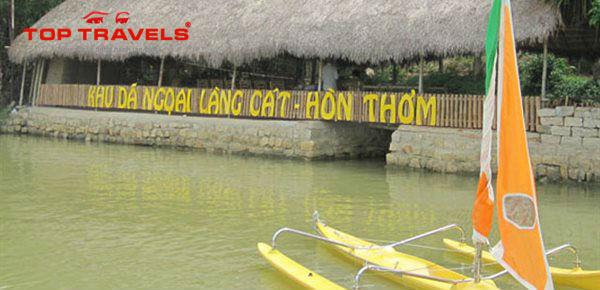 Khu du lịch sinh thái Làng Cát Hòn Thơm