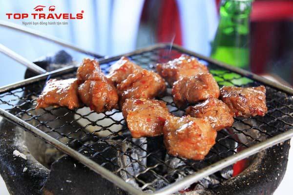 Thịt Bò Nướng Lạc Cảnh -Ẩm thực Nha Trang