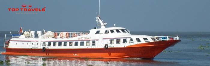 Vé tàu đi dảo Nam Du