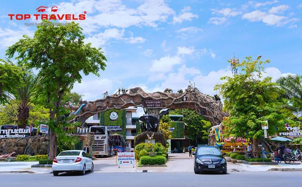 Thảo Cẩm Viên Dusit Zoo Thái Lan