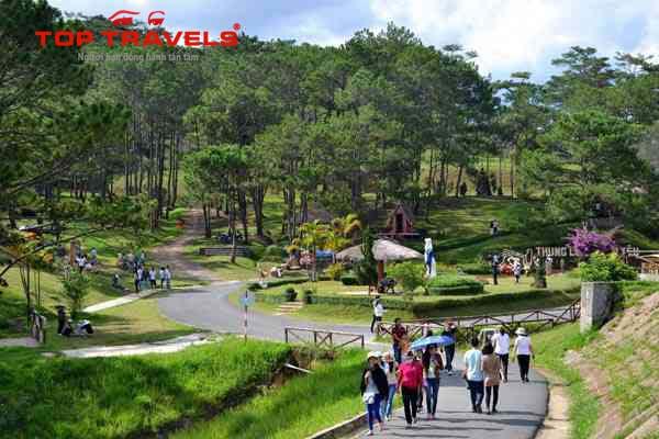 Tour Đà Lạt Khám Phá Dinh Bảo Đại - Thác Đantala - Thung Lũng Tình yêu