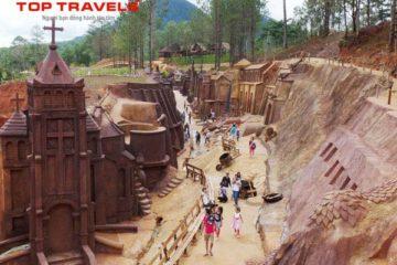 Tour Khám Phá Đường Hầm Đất Sét Ở Đà Lạt