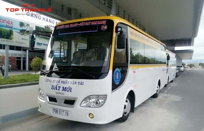 Xe Bus Từ Thành Phố Nha Trang Đi Sân Bay Cam Ranh
