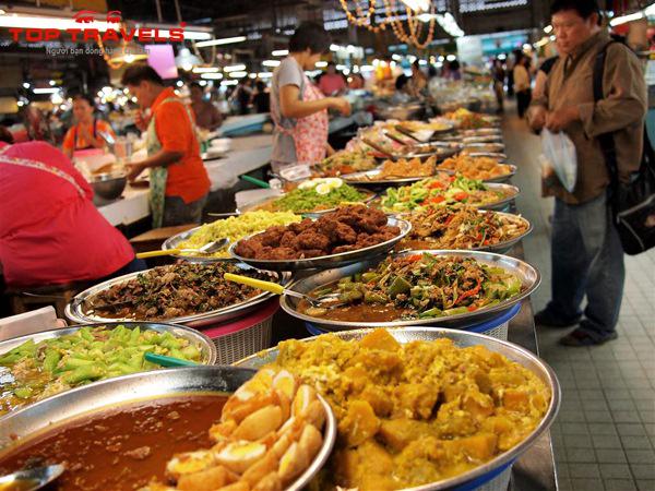 4 Khu vực ăn uống rẻ và ngon ở Bangkok