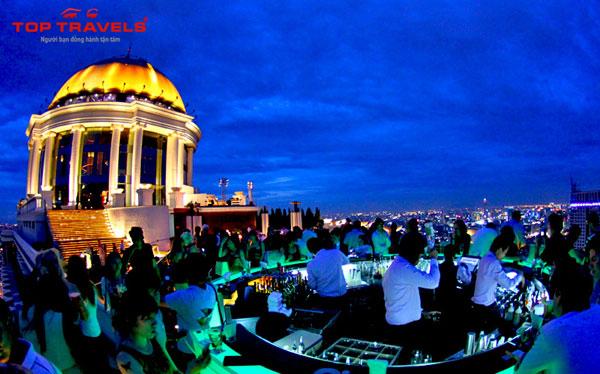 7 địa điểm ăn chơi lý tưởng tại Bangkok về đêm