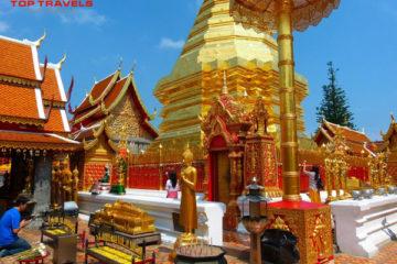 Wat Phrathat Doi Suthep Tại Thái Lan