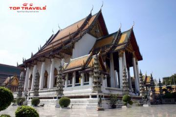 Wat Suthat và Chiếc Chuông Khủng Lồ