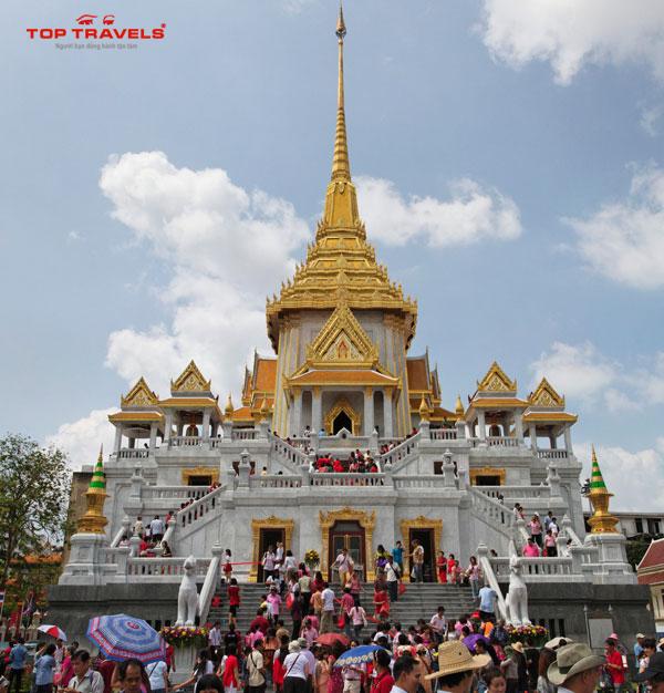 Wat Traimit - Chùa Phật Vàng