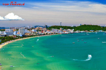 Bãi biển Jomtien Ở Thái Lan