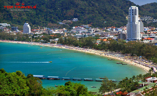 Bãi biển Patong Tại Phuket Thái Lan