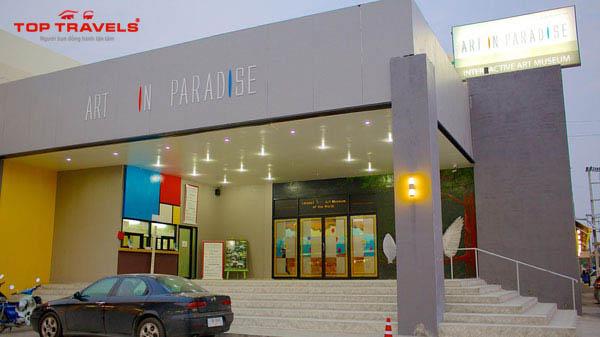 Bảo tàng 3D ở Pattaya Thái Lan
