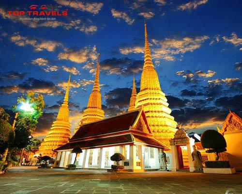 Chùa Wat Pho Tại Thái Lan