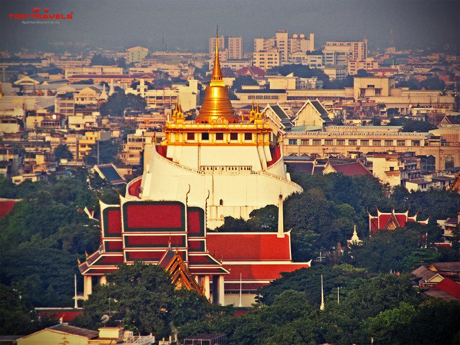 Chùa Wat Saket Tại Thái Lan