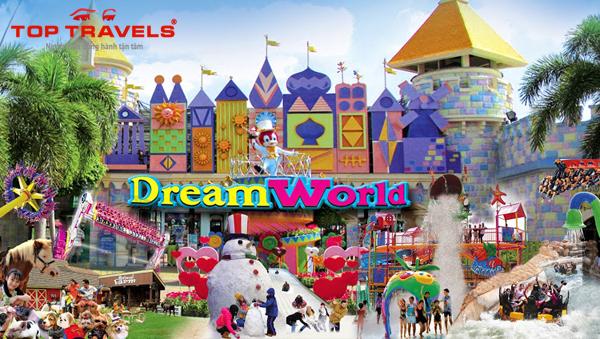 Công viên Dream World ở Thái Lan