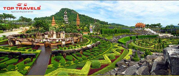 Công Viên Nong Nooch Tại Thái Lan