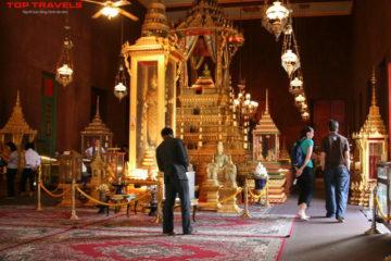 Chùa Vàng Chùa Bạc Tại Campuchia