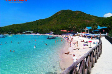 Đảo San Hô Koh Coral (Koh Larn) ở Thái Lan