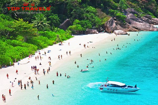 Đảo Similan Islands ở Thái Lan
