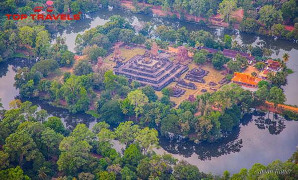 Đền Bakong ở Campuchia