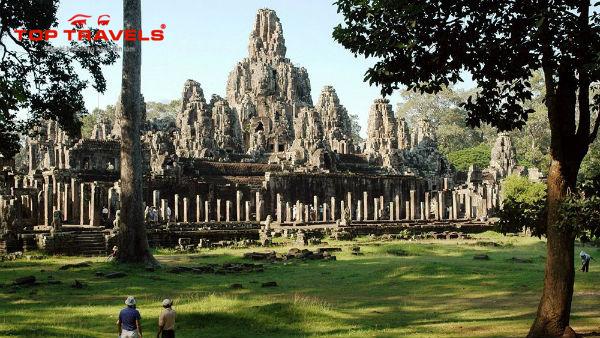 Đền Bayon Tại Campuchia