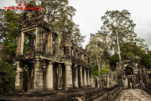 Đền Preah Khan Tại Campuchia