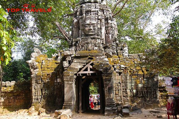 Đền Ta Som Ở Campuchia