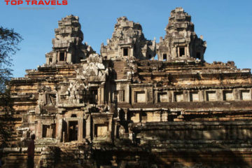 Ngôi đền TaKeo ở Campuchia