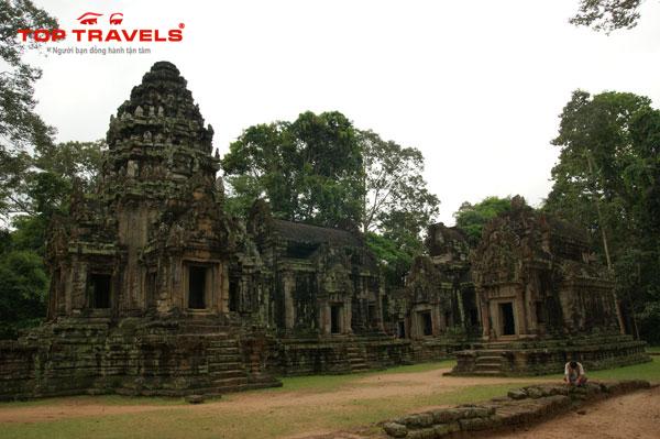 Đền Wat Thommanon ở Campuchia