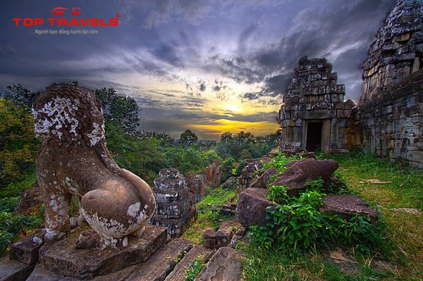 Du lịch Campuchia Bay Từ Sài Gòn : Siem Riep - Phnom Penh