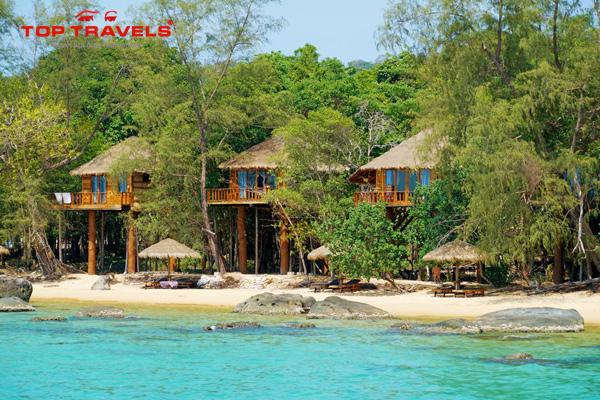 Du Lịch Đảo Koh Rong Đến Tree House Bungalow Trải Nghiệm Ngủ Trên Cây