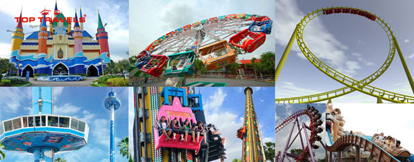 Khu giải trí Siam Park City ở Thái Lan
