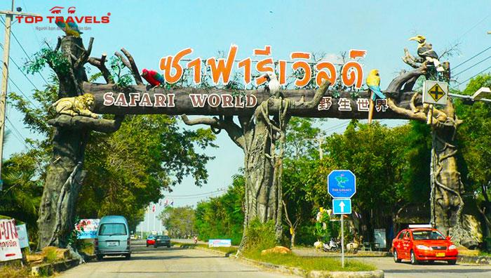 Kinh Nghiệm Du Lịch Safari World Bangkok Thái Lan