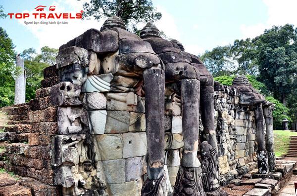 Kinh Nghiệm Khám Phá Angkor Thom