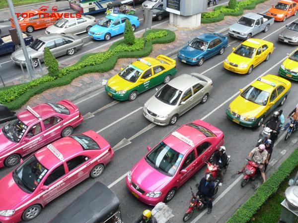 Kinh nghiệm khi đi taxi ở Thái Lan