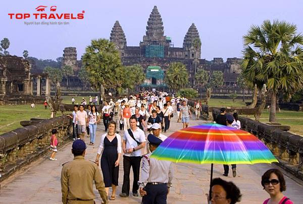 Kinh nghiệm tham quan quần thể Angkor khi đi du lịch Campuchia