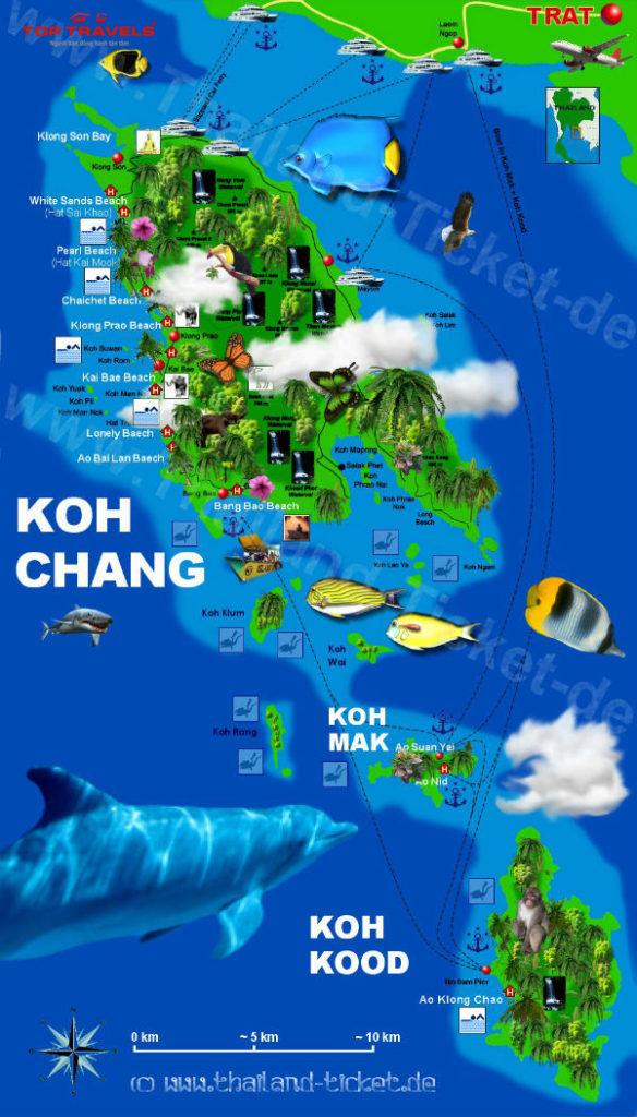 Đảo Chang Ở Thái Lan (Koh Chang)
