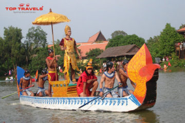 Lễ hội đua thuyền tại Campuchia