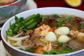 Món Hủ Tiếu Nam Vang ở Campuchia