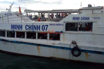 Vé Tàu đi đảo Bình Ba
