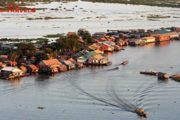 Tonle Sap Tại Cambodia (Biển Hồ Campuchia)